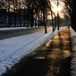 Sunset on Eerste Lieven de Keylaan in Eindhoven