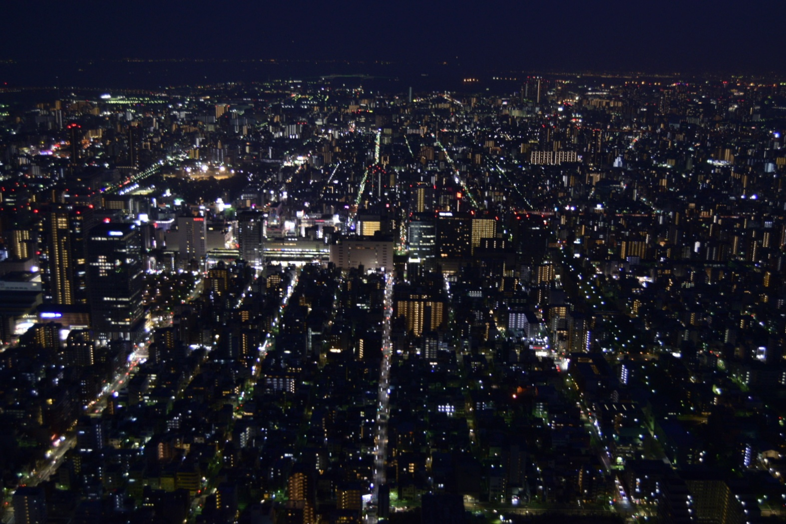 View from Skytree Tower